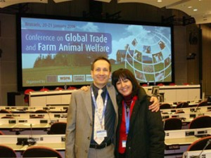 Photo Conference on Global Trade and Farm Animal Welfare - Brussels, Belgium, 2009