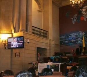 Conference at the Capitolio Nacional - Bogota, Colombia, 2010