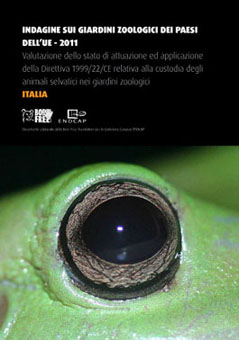 Cover of the Italian zoo report