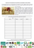 The petition form