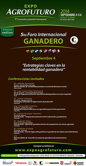 Poster of the 5th International Livestock Forum