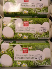 Free-range eggs - Eifel, Germany, 2014