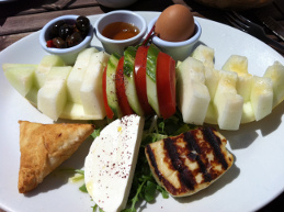 Turkish breakfast – London, UK, 2012